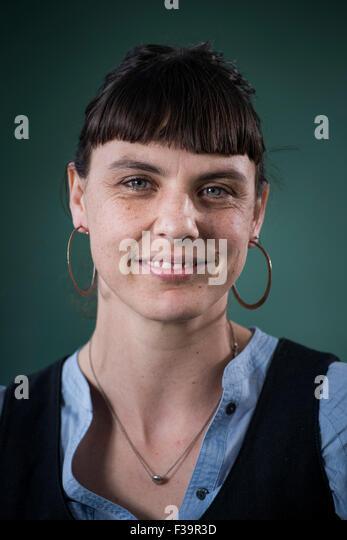 Melbourne author Anna Krien. - Stock Image