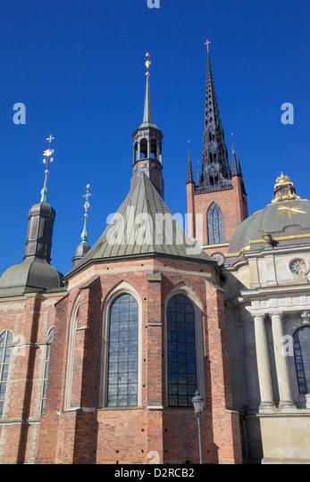 Riddarholmskyrkan (Riddarholmen Church), Riddarholmen, Stockholm, Sweden, Europe - Stock Image