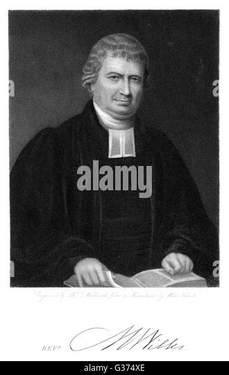 MATTHEW WILKS churchman, dissenting minister   with his autograph       Date: ? - 1829 - Stock Image