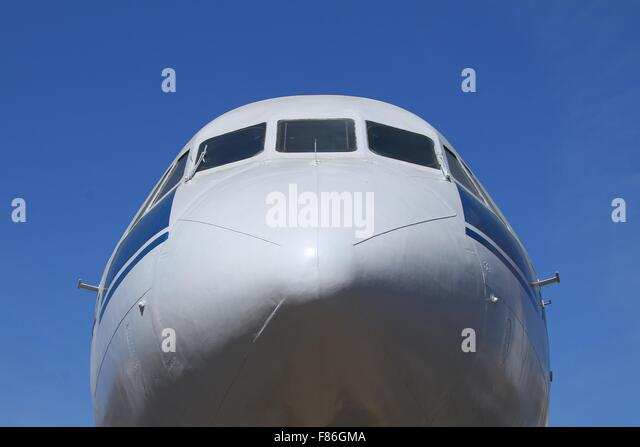 The fuselage of the aircraft - Stock Image