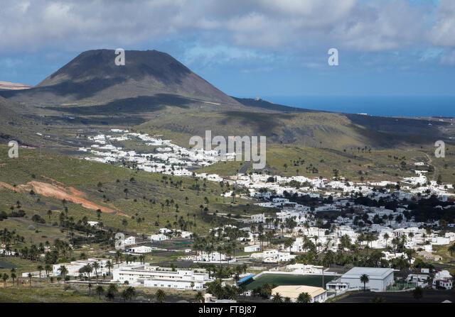Spain, Canary islands, Lanzarote, Haria - Stock-Bilder