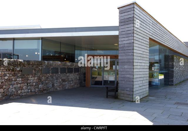 visitors centre at Culloden moor battlefield site highlands scotland - Stock Image