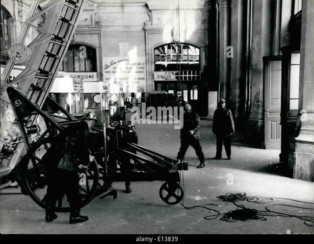 Feb. 29, 2012 - New plastic bomb outrages in Paris. A plastic time bomb laid n the Austerlitz Station cloak-room - Stock Image