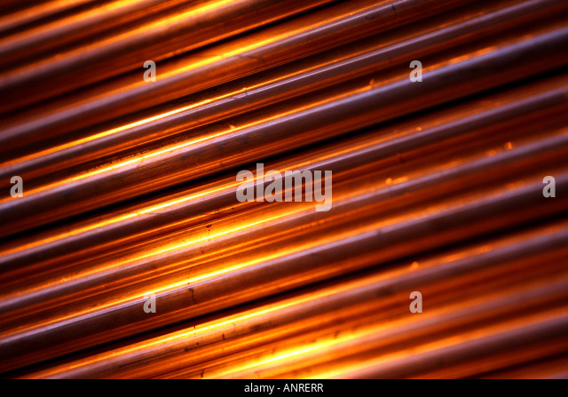 Copper pipe radiator stock photos copper pipe radiator for Copper pipe heater