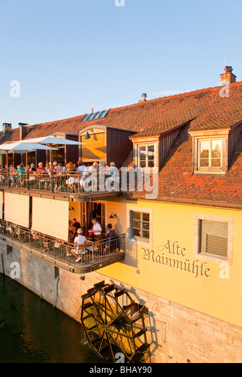 Wurzburg river germany stock photos wurzburg river for Terrace 45 menu