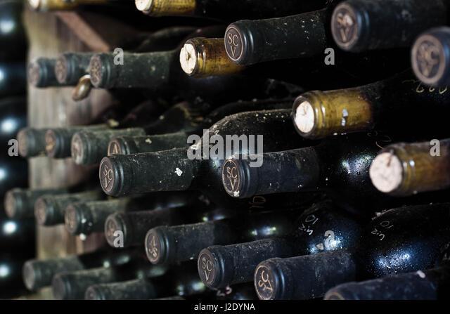 WineBottles6379   - Stock Image