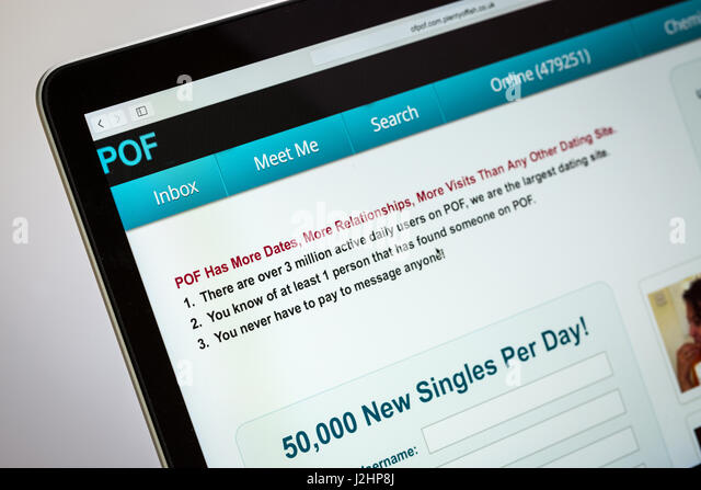 Pof dating site logo
