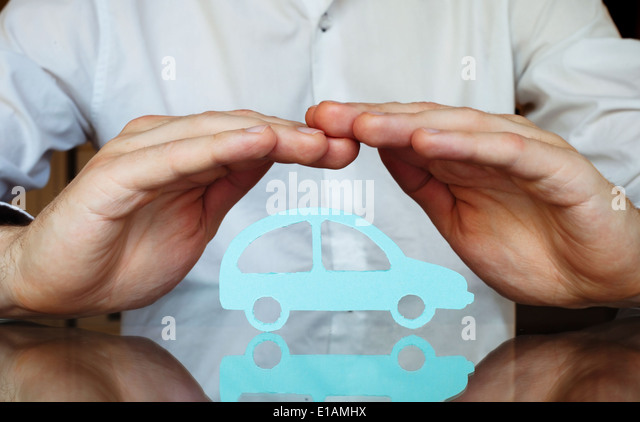 car insurance concept - Stock Image