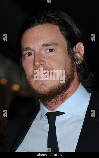 New York, NY, USA. 22nd Sep, 2014. Benjamin Walker at arrivals for The Equalizer  Screening, AMC Lincoln Square - Stock-Bilder