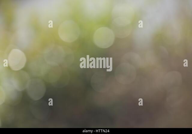 Hintergrund Bokeh Lichtreflexe weiß grün gelb - Stock-Bilder