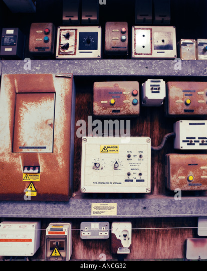 Electrical Fuseboxes - Stock Image