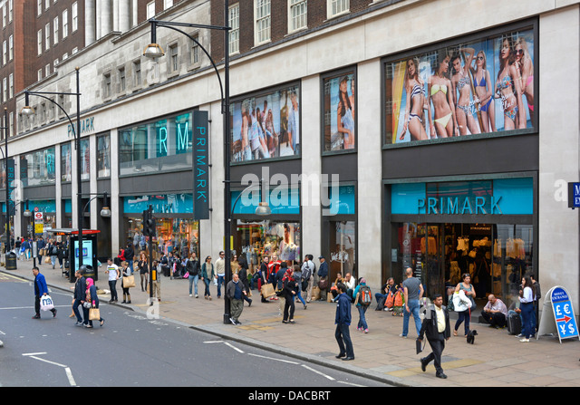 history and analysis of primark stores Primark doesn't spend heavily on advertising or marketing campaigns  on  social media in order to drive customers to it offline retail stores.