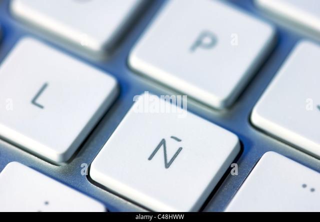how to make spanish n on keyboard