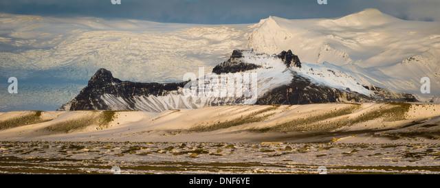 EUROPE ICELAND JOKULSARLON LAGOON TRAVEL VATNAJOKULL GLACIER - Stock-Bilder