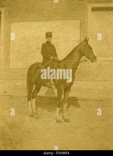 Cavalry Officer On Horseback Stock Photos & Cavalry ...
