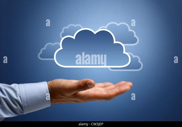 Cloud computing concept - Stock-Bilder