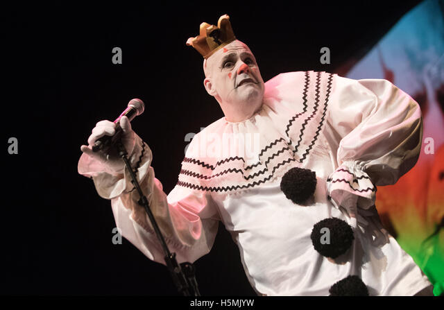 Puddles Pity Party performs at Bumbershoot festival on September 7, 2015 in Seattle, Washington - Stock Image