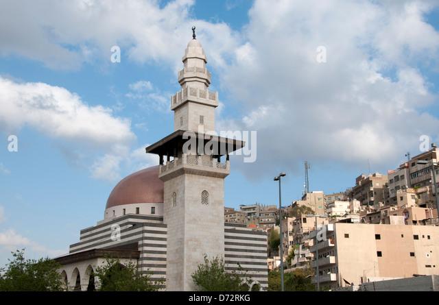 Jordan, Amman. Mosque - Stock Image