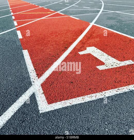 Lane 1 - Stock Image