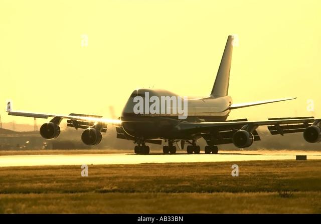 Boeing 747 - Stock Image