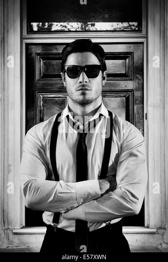 Nightclub bouncer stock photos nightclub bouncer stock for Door bouncer age