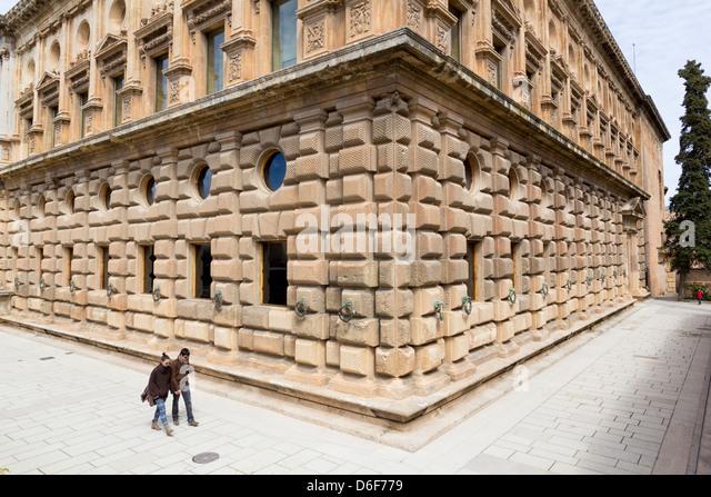 Palacio Carlos V Stock Photos & Palacio Carlos V Stock Images - Alamy