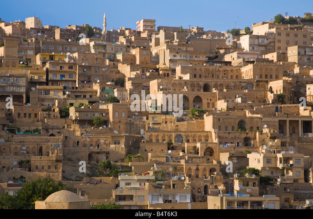 Turkey, Eastern Turkey, Mardin, Old city - Stock Image