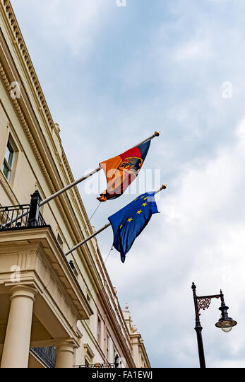 european flag flag germany flying stock photos european flag flag germany flying stock images. Black Bedroom Furniture Sets. Home Design Ideas