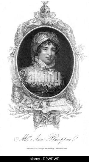 ANNA PLUMPTRE - Stock Image