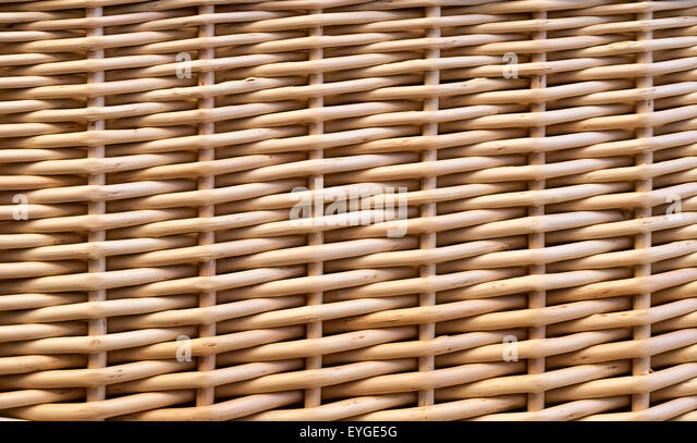 Rattan Basket Weaving Patterns : Interweave stock photos images alamy