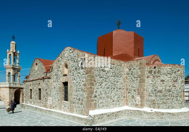 Rhodos Church Asklipio Stock Photos & Rhodos Church ...