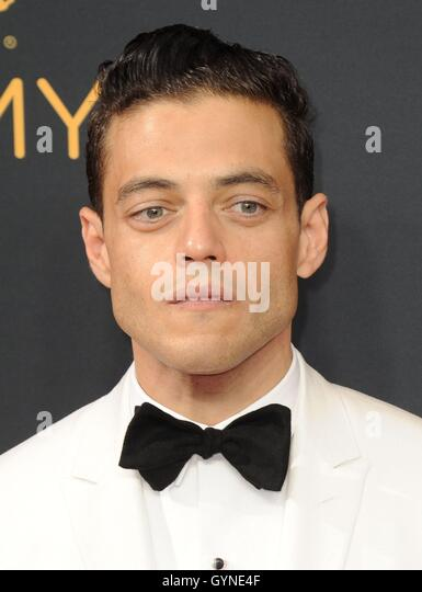 Los Angeles, CA, USA. 18th Sep, 2016. Rami Malek at arrivals for The 68th Annual Primetime Emmy Awards 2016 - Arrivals - Stock-Bilder
