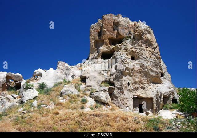 Landscape Boulders Dallas Tx : Cappadocia landscape with vulcanic rocks and houses carved in this