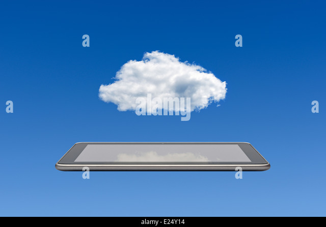 Cloud Computing. - Stock-Bilder