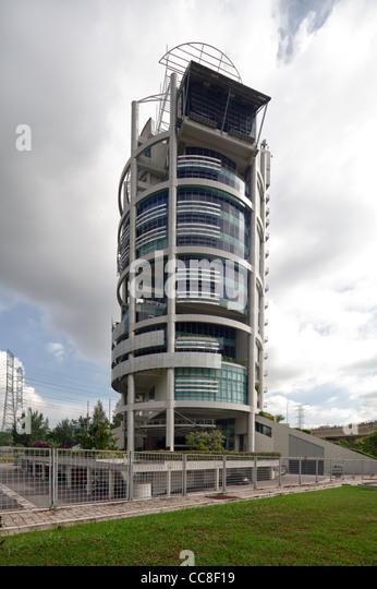 Menara Mesiniaga, IBM headquarters, Subang Jaya,  Kuala Lumpur, Malaysia - Stock Image