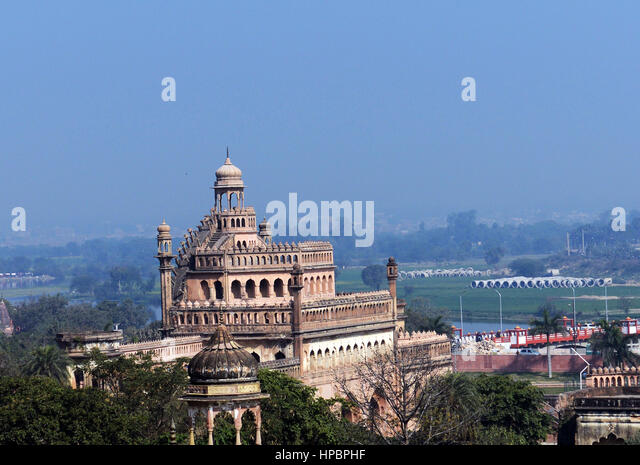 The Bara Imambara complex in Lucknow - Stock Image