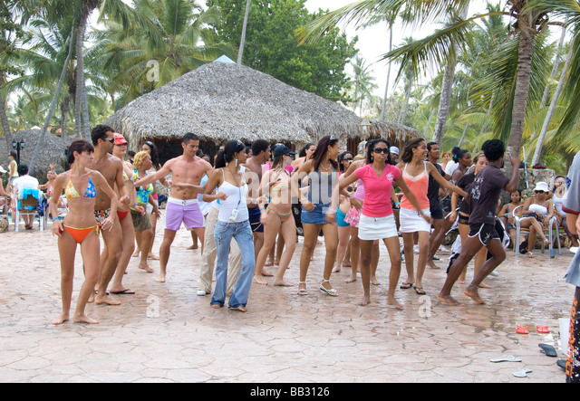 Bayahibe, Dominican Republic, Viva Wyndham Dominicus Beach - Stock Image