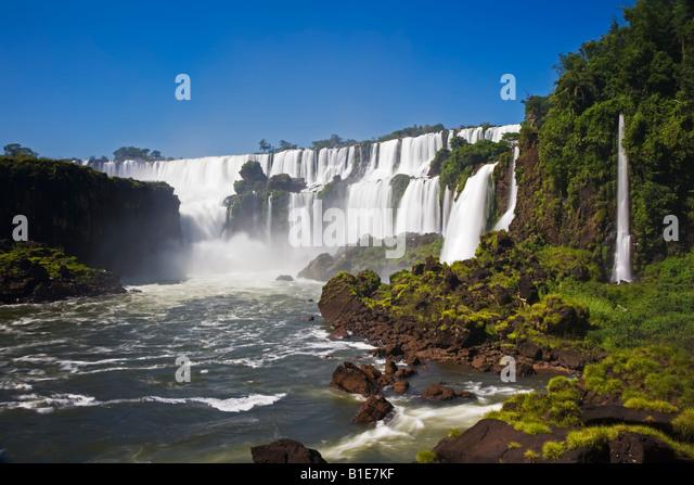 Iguassu Falls - Stock Image