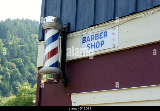 Barber shop in Snug Cove, Bowen Island, British Columbia, Canada ...