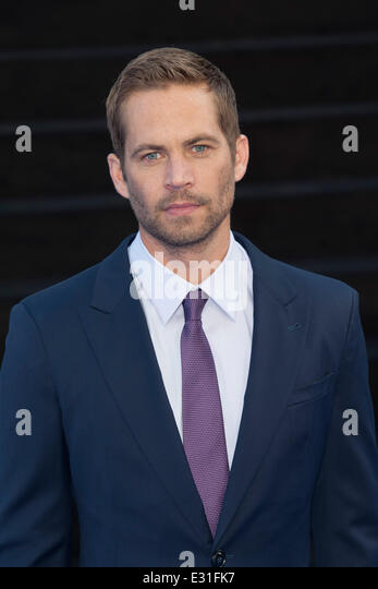World Premiere of 'Fast & Furious 6' held at the Empire Leicester Square - Arrivals  Featuring: Paul - Stock Image