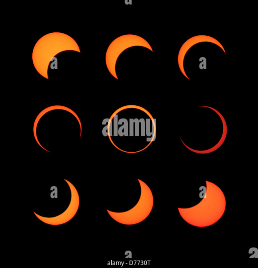 Solar Eclipse Phases Stock Photos Amp Solar Eclipse Phases