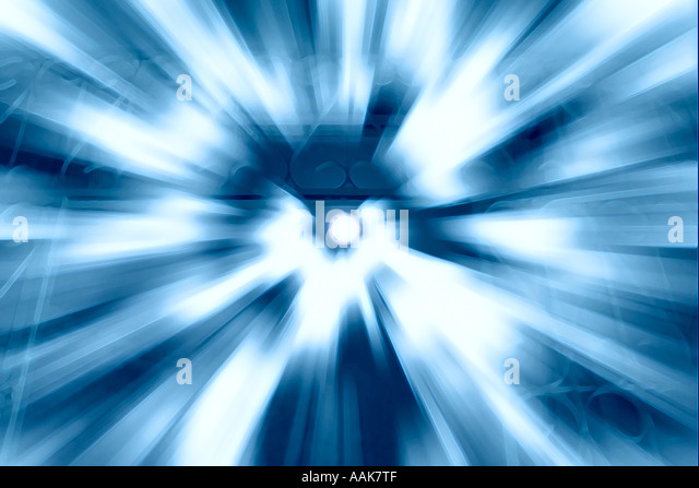 Going through The Stargate - Stock Image