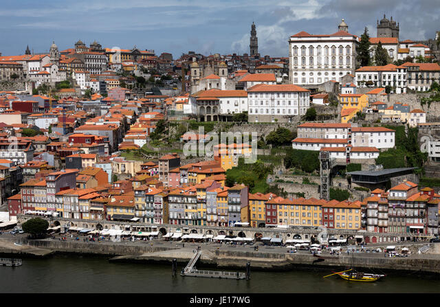 City of Porto (Oporto) in Portugal - Stock Image
