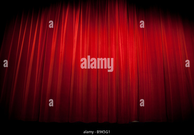 red curtains theatre - photo #31