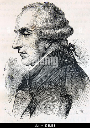 PIERRE-SIMON LAPLACE (1749-1827) French mathematician and astronomer - Stock-Bilder