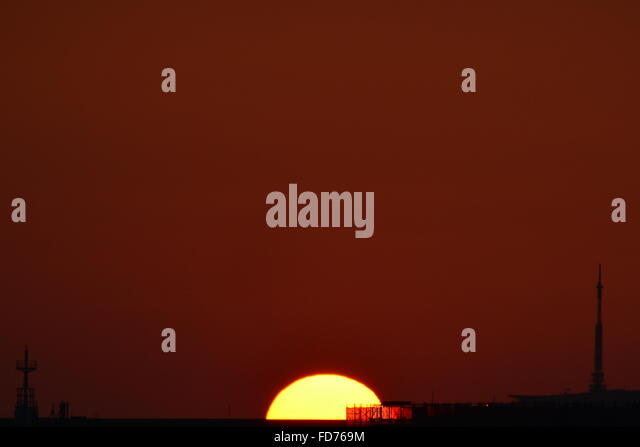 Magic Sunset - Stock-Bilder