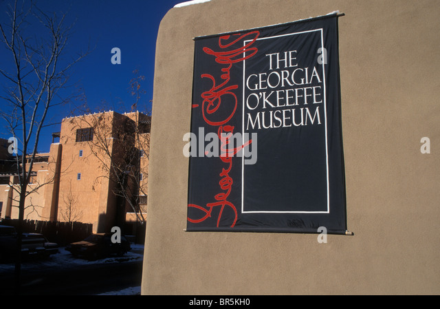Georgia O'Keefe Museum - Stock Image