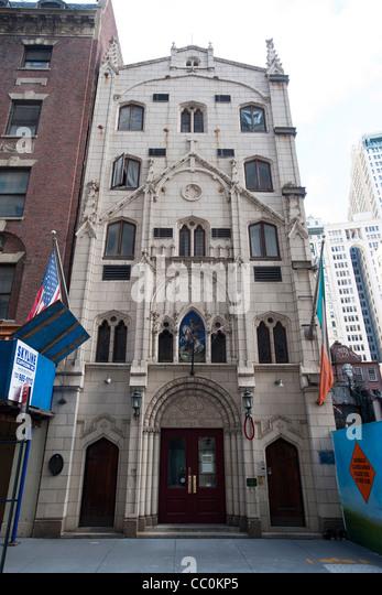 Congregation Catholic Church New York Stock Photos ...