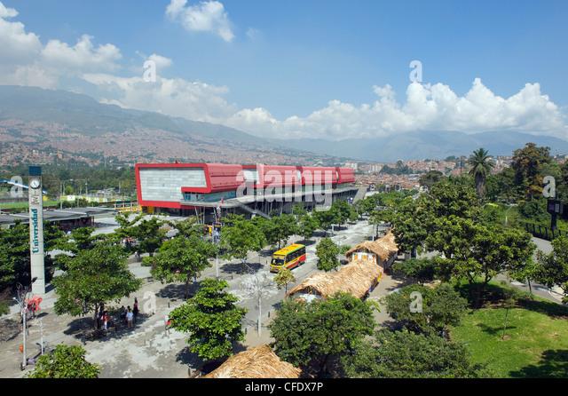 Exhibition center, Medellin, Colombia, South America - Stock Image