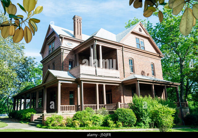 Alabama Tuskegee Tuskegee Institute National Historic Site Tuskegee University The Oaks Booker T. Washington home - Stock Image